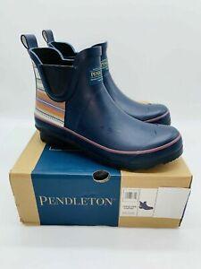Pendleton Women's Chelsea Rain Rubber Boots - NAVY