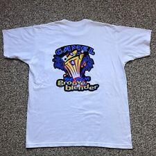 DEADSTOCK VINTAGE 1996 Camel Cigarettes Pocket T-shirt XL Vegas Groove Blender