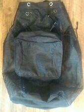 Scuba/Snorkeling Backpack Mesh Bag with Side Pocket