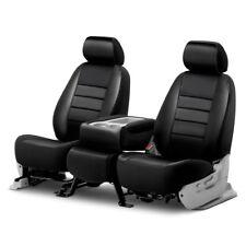 For Chevy Silverado 1500 14-19 Fia LeatherLite Series 1st Row Black Seat Covers