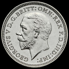 More details for 1927 george v silver proof threepence, scarce