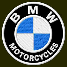 "Bmw Motorcycles Embroidered Patch ~3-1/8"" Ricamato Bordado Parche AufnÄHer Bike"