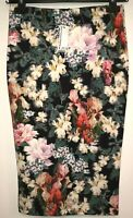 Warehouse Womens Skirt Size 10 Foral Pencil Skirt NWT