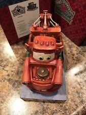 Disney Jim Shore Cars Mater Git R Done New in Box Retired 4023568