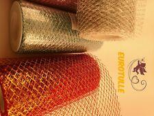 A Pack of 5 Roll Medium Stiff Mesh/netting  6 inch x 10Y per Roll 100% Nylon