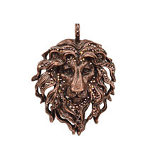 Kirks Folly Aslan Lion King Pendant (Coppertone) with KF Gift Box