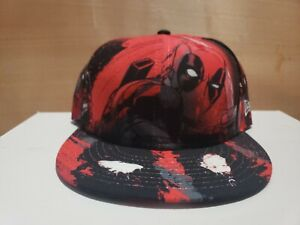 New Era Deadpool  All Over 7 1/2 Fitted Hat Cap