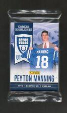2012 Panini Peyton Manning Career Highlights Sealed 10-Card Set Super Bowl XLVI