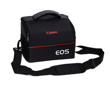 Camera Bag Case Strap+Belt+Rain Cover for Canon Rebel T6 SL1 EOS 77D 650D 5D4 6D