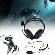 Wired Gaming Headset Headphones with Microphone for Sony PS4 PlayStation 4 TD