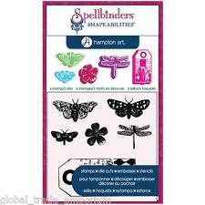 Spellbinders & Hampton Art BUTTERFLIES Stamp & Die Sets - BRAND NEW BARGAIN!!