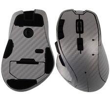 Skinomi Gaming Mouse Carbon Fiber Silver Full Body Skin Cover for Logitech G700