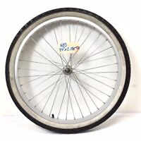 "24"" Bicycle Front Alloy Wheel with 2.125"" Tire Beach Mountain Cruiser Bike #N83"