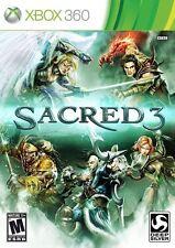 Sacred 3 - Xbox 360 VideoGames