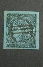 MOMEN: ARGENTINA CORRIENTES STAMPS #1 USED 1856 $40 R1786S #10415