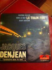 Lp 45t Jacques Denjean L'orchestre Dans Le Vent Le Train Fou Mistral 20h30 Nuit