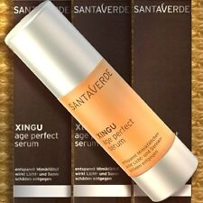 Santaverde Xingu Age Perfect Serum 30ml High Antioxidant Prevention Luxuspflege