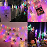 Photo Clip Copper Wire Fairy String Led Light Christmas Wedding Party Home Decor