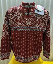 NWT Dale of Norway 100% Wool Windstopper Sweater - Haugestol Unisex Size L