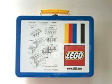 New LEGO Metal Tin Lunchbox Original Lego Brick Patent Sketch Exclusive Promo