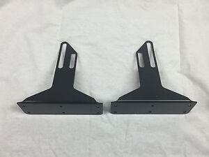 Front Bumper Wind Splitter Support Brackets 92-00 Civic Del Sol integra 94-01
