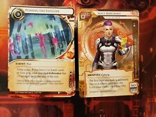 Complete Red Sands Cycle for Android Netrunner - Cards Only, NM/M!