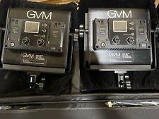 GVM 800D-RGB Video Light,LED Camera Lights Kit with stand