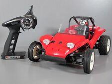 Tamiya 1/10 R/C Car Sand Buggy Kumamon Version DT-02 Chassis Brushless Motor LED