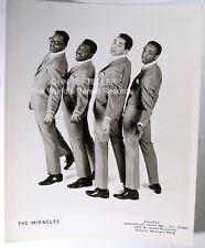 ORIGINAL 1960's 8x10 Publicity Photo Miracles Soul