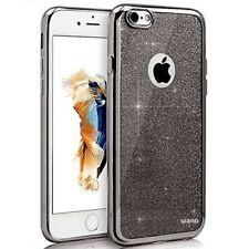 Premium Apple iPhone 5 5S 5SE Black Titanium Silicone Case & Screen Protectors