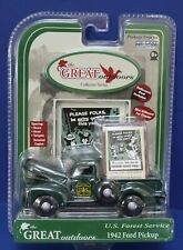 Gearbox 56991 1:43 1942 Ford Pickup US Forest Service MOC Sealed New