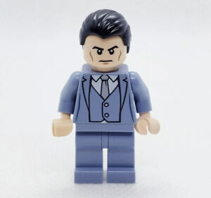 New Genuine LEGO Bruce Wayne Minifig with Goblet DC Super Heroes 70909