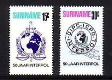 Suriname Michel numero 656 - 657 post freschi