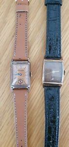 Vintage Elgin, Bulova, 1940s, Gold Filled/plated, Working Condition Watch