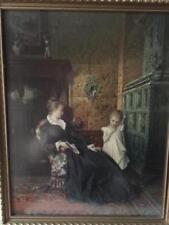 Antique (Pre-1900) Art Nouveau Original Art Prints