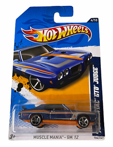 Hot Wheels '70 Pontiac GTO Judge - Muscle Mania - Combined Postage Available