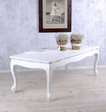 Coffee Table White Sofa Table Country Style Living Room Table Side Table Shabby