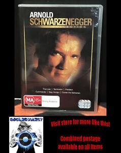 Arnold Schwarzenegger Collection Dvd - 6 movies Predator Terminator Conan