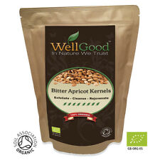 WellGood Organic Raw Bitter Apricot seeds kernels (High Strength) 500g GB-ORG-05