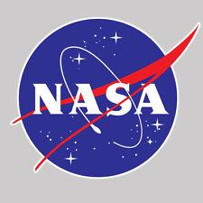 2 x STICKER NASA BLASON CONQUETE SPATIALE LEM FUSEE AUTOCOLLANT USA 6cm NA001