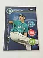 2020 Topps Baseball Topps Attax Big Leaguer - Yusei Kikuchi - Seattle Mariners