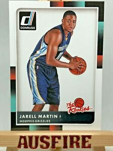 NBA Jarell Martin Memphis Grizzlies 2015-16 Panini Donruss The Rookies Card #16