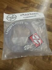 NOS. E Thirteen Chainring Bashguard Supercharger 4-104mm. 40t. Clear
