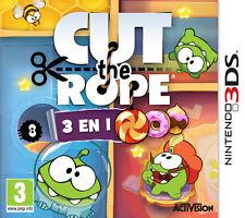 ELDORADODUJEU > CUT THE ROPE 3 IN 1 Pour NINTENDO 3DS NEUF VF