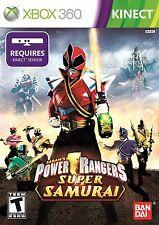 NEW Power Rangers Samurai  (Xbox 360, 2011) NTSC