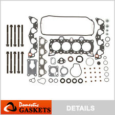 Fit 88-95 Honda CRX Civic Del Sol 1.5L 1.6L Head Gasket Bolts Kit D15B7 D16A6