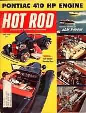 HOT ROD MAY 1959,PONTIAC 410,BOAT RODDING,FUEL INJECTION VETTE,HOTROD MAGAZINE