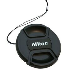 Pinch Snap-On Front Lens Cap For Nikon 62mm