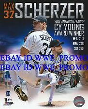 Max Scherzer Detroit Tigers Cy Young Winner MLB LICENSED 8X10 BASEBALL PHOTO