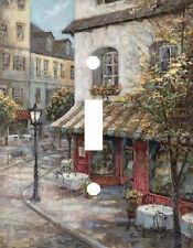 CORNER CAFE ART LIGHT SWITCH PLATE COVER BISTRO HOME DECOR